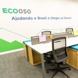 Foto da nova sede da Eco050 e Ecovias do Cerrado.