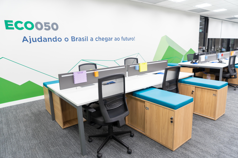 Foto da nova sede do grupo EcoRodovias.