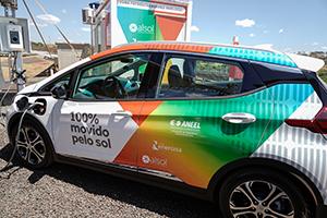 imagem que representa uma solução de ponto de recarga para carros elétricos