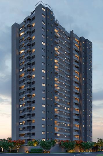 Imagem do projeto do residencial vertical DOT, no Granja Marileusa.